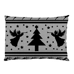 Ugly Christmas Sweater Pillow Case by Valentinaart