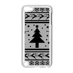 Ugly Christmas Sweater Apple Ipod Touch 5 Case (white) by Valentinaart