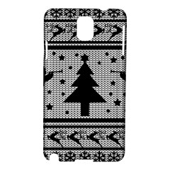 Ugly Christmas Sweater Samsung Galaxy Note 3 N9005 Hardshell Case by Valentinaart