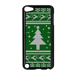 Ugly Christmas Sweater Apple Ipod Touch 5 Case (black) by Valentinaart