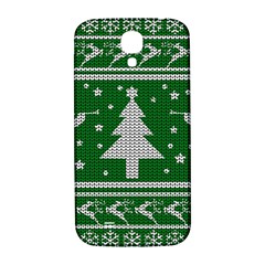Ugly Christmas Sweater Samsung Galaxy S4 I9500/i9505  Hardshell Back Case by Valentinaart