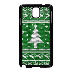 Ugly Christmas Sweater Samsung Galaxy Note 3 Neo Hardshell Case (black)