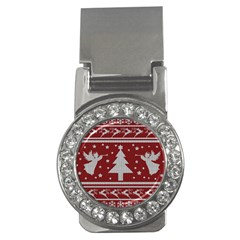 Ugly Christmas Sweater Money Clips (cz)  by Valentinaart