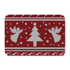 Ugly Christmas Sweater Plate Mats by Valentinaart