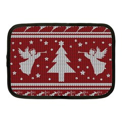 Ugly Christmas Sweater Netbook Case (medium)  by Valentinaart