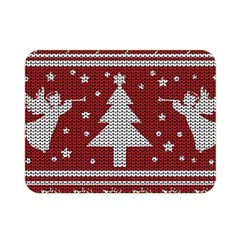 Ugly Christmas Sweater Double Sided Flano Blanket (mini)  by Valentinaart