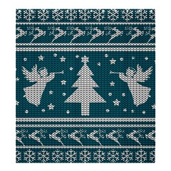 Ugly Christmas Sweater Shower Curtain 66  X 72  (large)  by Valentinaart
