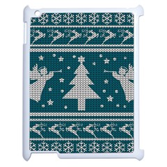 Ugly Christmas Sweater Apple Ipad 2 Case (white) by Valentinaart