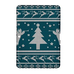 Ugly Christmas Sweater Samsung Galaxy Tab 2 (10 1 ) P5100 Hardshell Case  by Valentinaart