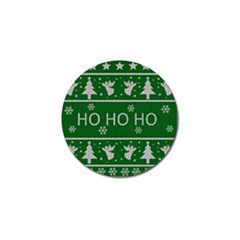 Ugly Christmas Sweater Golf Ball Marker (10 Pack) by Valentinaart