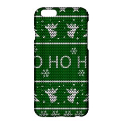 Ugly Christmas Sweater Apple Iphone 6 Plus/6s Plus Hardshell Case by Valentinaart