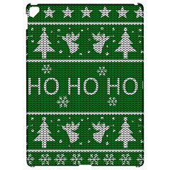 Ugly Christmas Sweater Apple Ipad Pro 12 9   Hardshell Case by Valentinaart