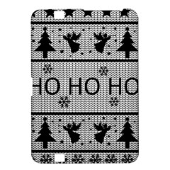 Ugly Christmas Sweater Kindle Fire Hd 8 9  by Valentinaart