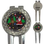 Ugly Christmas Sweater 3-in-1 Golf Divots Front