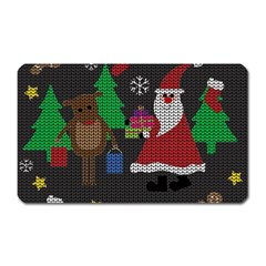 Ugly Christmas Sweater Magnet (rectangular) by Valentinaart