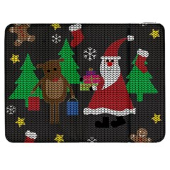 Ugly Christmas Sweater Samsung Galaxy Tab 7  P1000 Flip Case by Valentinaart