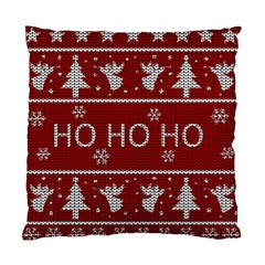 Ugly Christmas Sweater Standard Cushion Case (two Sides) by Valentinaart