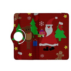 Ugly Christmas Sweater Kindle Fire Hdx 8 9  Flip 360 Case by Valentinaart