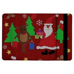 Ugly Christmas Sweater Ipad Air Flip by Valentinaart