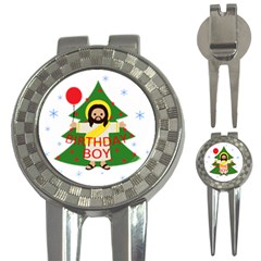 Jesus   Christmas 3 In 1 Golf Divots by Valentinaart