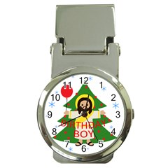 Jesus   Christmas Money Clip Watches by Valentinaart