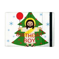 Jesus   Christmas Apple Ipad Mini Flip Case by Valentinaart