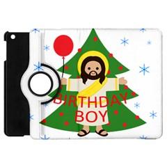 Jesus   Christmas Apple Ipad Mini Flip 360 Case by Valentinaart