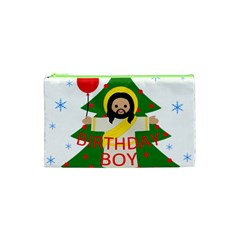 Jesus   Christmas Cosmetic Bag (xs) by Valentinaart