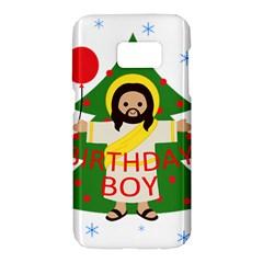 Jesus   Christmas Samsung Galaxy S7 Hardshell Case  by Valentinaart