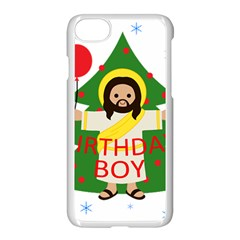 Jesus   Christmas Apple Iphone 7 Seamless Case (white) by Valentinaart