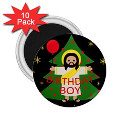 Jesus   Christmas 2 25  Magnets (10 Pack)  by Valentinaart