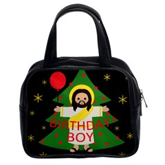 Jesus   Christmas Classic Handbags (2 Sides) by Valentinaart