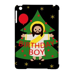 Jesus   Christmas Apple Ipad Mini Hardshell Case (compatible With Smart Cover) by Valentinaart