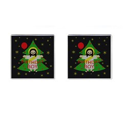 Jesus   Christmas Cufflinks (square) by Valentinaart