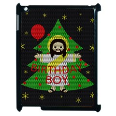 Jesus   Christmas Apple Ipad 2 Case (black) by Valentinaart