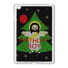 Jesus   Christmas Apple Ipad Mini Case (white) by Valentinaart