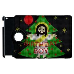 Jesus   Christmas Apple Ipad 2 Flip 360 Case by Valentinaart