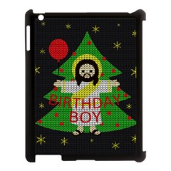 Jesus   Christmas Apple Ipad 3/4 Case (black) by Valentinaart