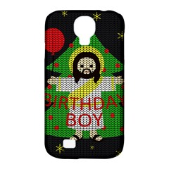 Jesus   Christmas Samsung Galaxy S4 Classic Hardshell Case (pc+silicone) by Valentinaart