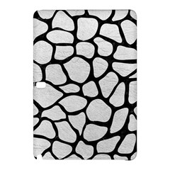 Skin1 Black Marble & White Leather (r) Samsung Galaxy Tab Pro 12 2 Hardshell Case by trendistuff