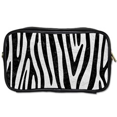 Skin4 Black Marble & White Leather (r) Toiletries Bags 2 Side by trendistuff