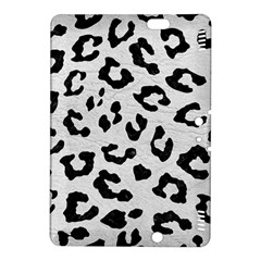 Skin5 Black Marble & White Leather (r) Kindle Fire Hdx 8 9  Hardshell Case by trendistuff