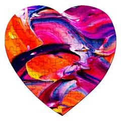 Abstract Acryl Art Jigsaw Puzzle (heart) by tarastyle