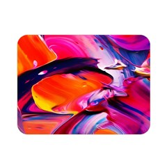 Abstract Acryl Art Double Sided Flano Blanket (mini)  by tarastyle
