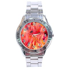Abstract Acryl Art Stainless Steel Analogue Watch by tarastyle