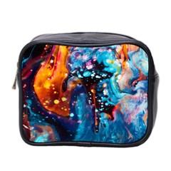 Abstract Acryl Art Mini Toiletries Bag 2 Side by tarastyle