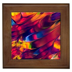 Abstract Acryl Art Framed Tiles