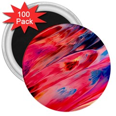 Abstract Acryl Art 3  Magnets (100 Pack) by tarastyle