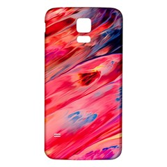 Abstract Acryl Art Samsung Galaxy S5 Back Case (white)