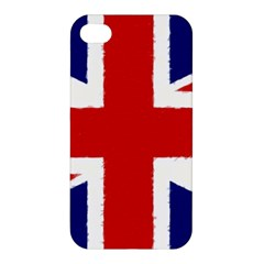 Union Jack Watercolor Drawing Art Apple Iphone 4/4s Hardshell Case by picsaspassion